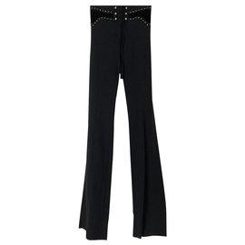 Roberto Cavalli-Un pantalon, leggings-Noir