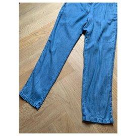 Paul & Joe Sister-Un pantalon, leggings-Bleu