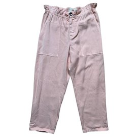 Vanessa Bruno Athe-Un pantalon, leggings-Rose