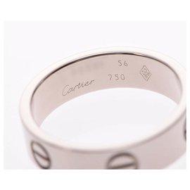 Cartier-Bague d'amour Cartier #56-Argenté