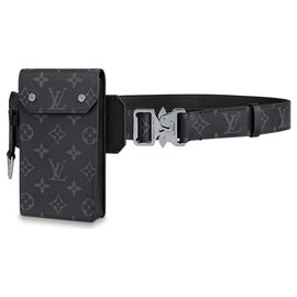 Louis Vuitton-Utility belt LV-Grey