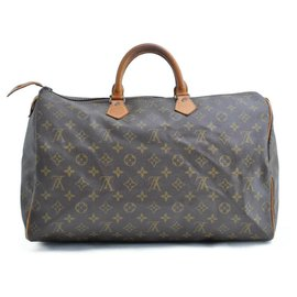 Louis Vuitton-Louis Vuitton Monogram Speedy 40-Brown