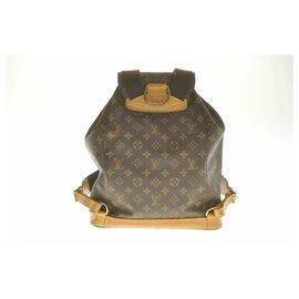 Louis Vuitton-Louis Vuitton Monogram Montsouris GM-Brown