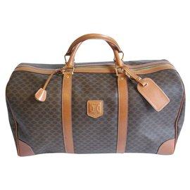 Céline-Travel bag-Dark brown