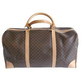 Céline-Travel bag-Light brown