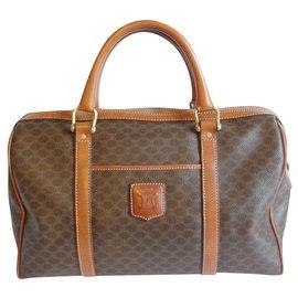 Céline-Handbags-Dark brown
