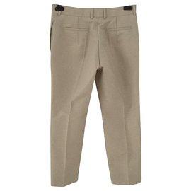 Céline-Un pantalon, leggings-Beige