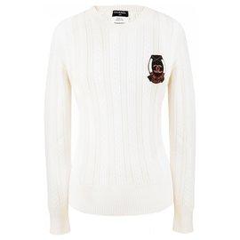 Chanel-Paris Bombay ecru sweater-Other