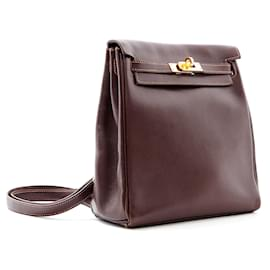 Hermès-KELLYADO MINI 20 Brown-Brown