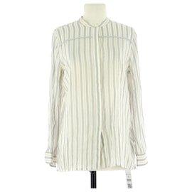 Burberry-Wrap blouse-Beige