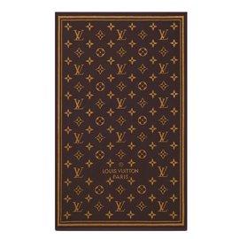 Louis Vuitton-Serviette de plage monogramme marron Louis Vuitton-Marron