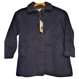 Hartford-Girl Coats outerwear-Navy blue