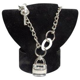 Chloé-Necklaces-Silvery,White