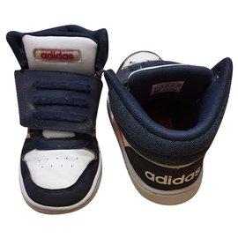 Adidas-Turnschuhe-Weiß