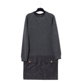 Louis Vuitton-SWEATER LIKE FR36-Noir,Gris anthracite