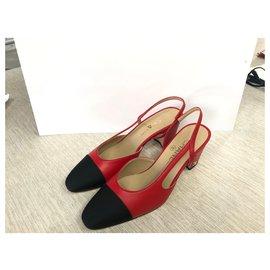 Chanel-Slingback-Rouge