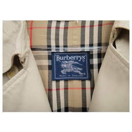 Burberry-vintage Burberry women's trench coat 40-Beige