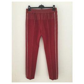 Valentino-Un pantalon, leggings-Rouge