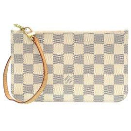 Louis Vuitton-Louis Vuitton Damier Azur-White