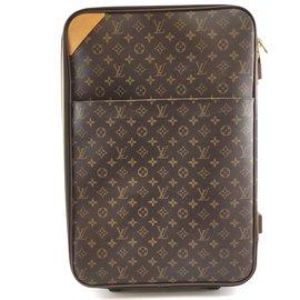 Louis Vuitton-Louis Vuitton Pegase 55 Monogram canvas-Brown