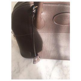 Hermès-Hermès Bolide Bag-Dark brown