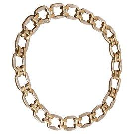 Hermès-Necklaces-Silvery,Golden