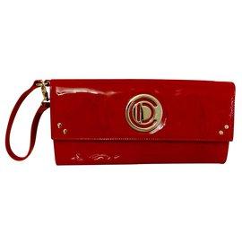 Christian Dior-Dior clutch-Red