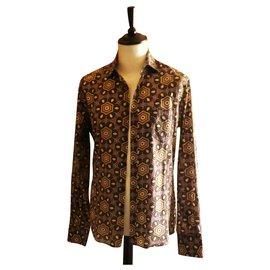 Guess-chemise GUESS BY MARCIANO taille L parfait état-Multicolore
