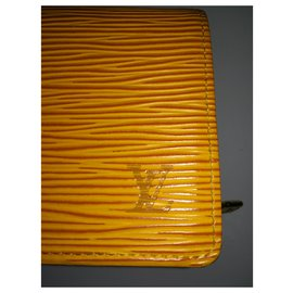 Louis Vuitton-Wallets-Yellow