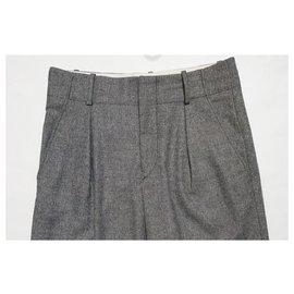 Isabel Marant-Un pantalon, leggings-Noir,Blanc