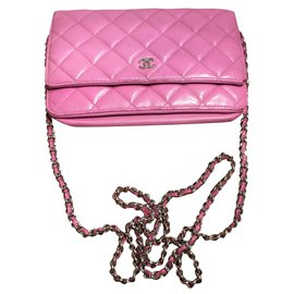 Chanel-wallet on chain-Pink
