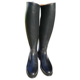 JM Weston-boots-Black