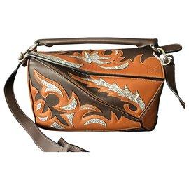 Loewe-Handbags-Brown