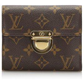 Louis Vuitton-Louis Vuitton Brown Monogram Koala Wallet-Brown