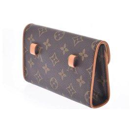 Louis Vuitton-Louis Vuitton Pochette Florentine-Brown