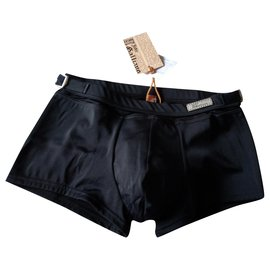 John Galliano-New John Galliano swim boxer black 48it corresponds 40fr-Black