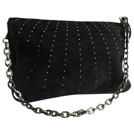 Jimmy Choo-Handbags-Black