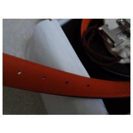 Hermès-Ceintures-Orange