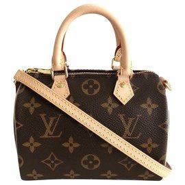 Louis Vuitton-Louis Vuitton Nano Speedy-Brown