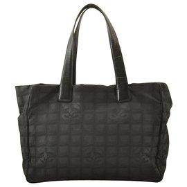 Chanel-Sac cabas Chanel Travel line-Noir