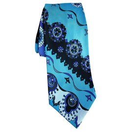 Emilio Pucci-Ties-Light blue