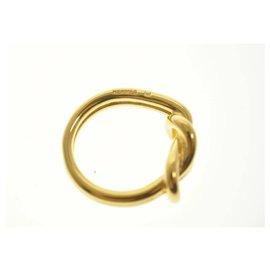 Hermès-Hermes scarf ring-Golden