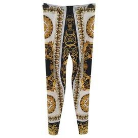 Versace-Un pantalon, leggings-Multicolore