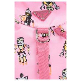 Prada-Prada backpack new-Pink