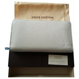 Louis Vuitton-Zippé-Beige