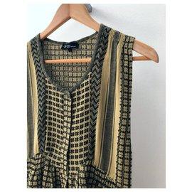 Isabel Marant Etoile-Dresses-Grey