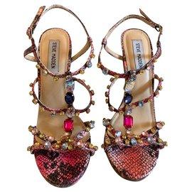 Steve Madden-Heel beads sandals-Multiple colors