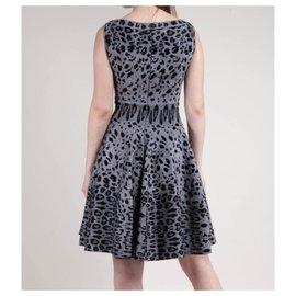 Alaïa-Dresses-Grey