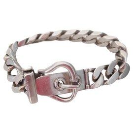 Hermès-Saddler buckle-Silvery