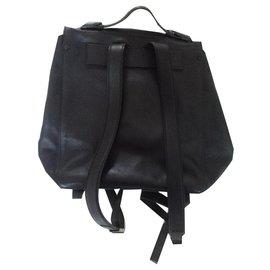 Proenza Schouler-PS backpack1 backpack-Black